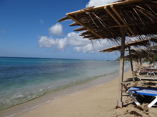 South Friars Beach St Kitts Caribbean