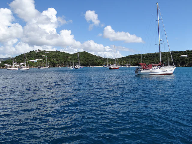 St Thomas in the Caribbean