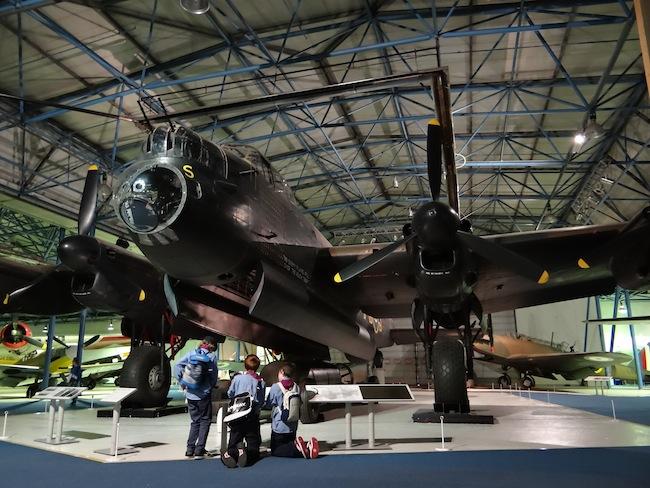 Lancaster Bomber RAF Royal Air Force Museum London