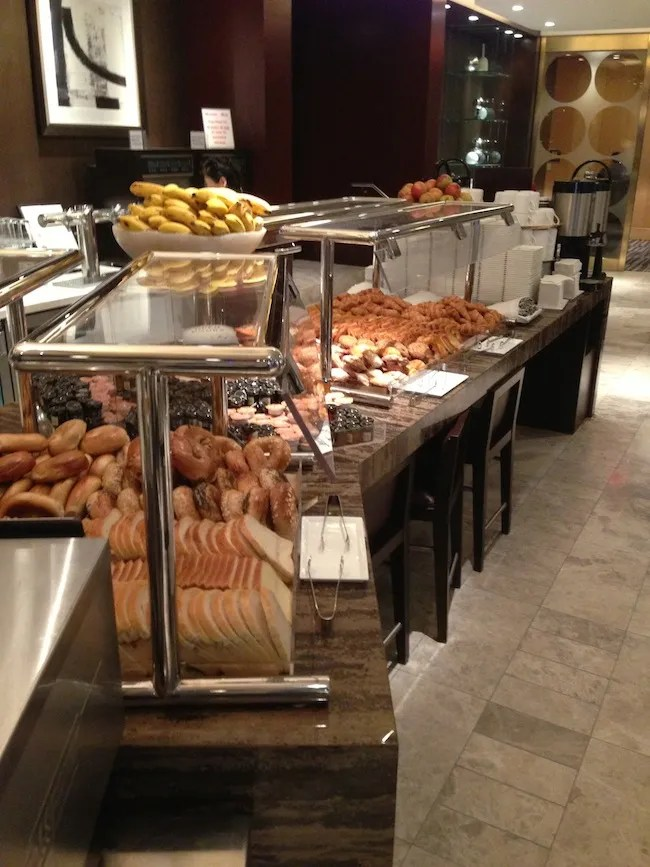 New York Hilton Midtown Executive Room Breakfast