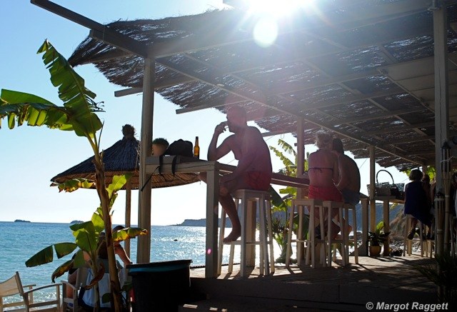 Avithos Beach Bar Kefalonia by Margot Raggett Photography