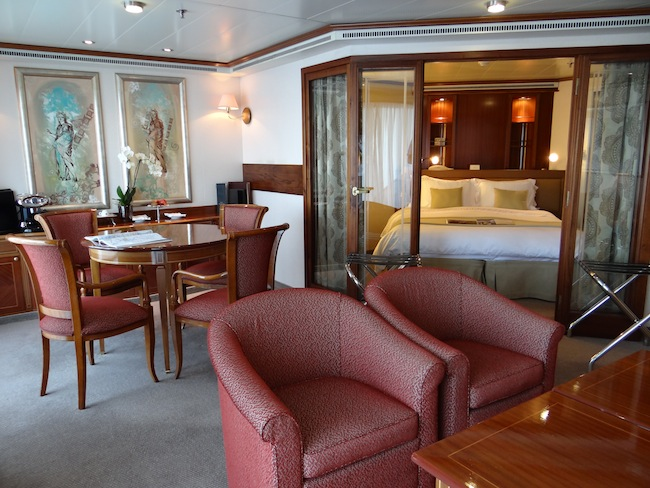 Silversea Silver Whisper Medallion Suite
