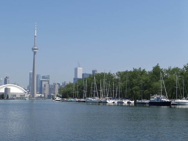 Toronto Skyline from the Water and Islands