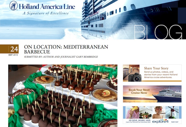Holland America Mediterranean Barbeque by Gary Bembridge
