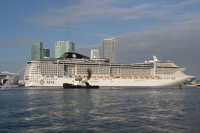 MSC Divina in Port Miami