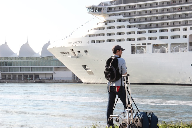 Finally the elegant MSC Divina docks in Port Miami. Home at last!
