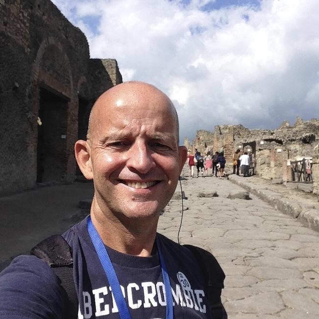 Pompeii near Naples