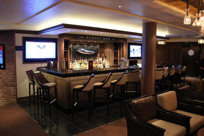 Norwegian Getaway Cruise Ship's Sunset Bar