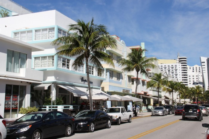 Miami South Beach Art Deco Buildings