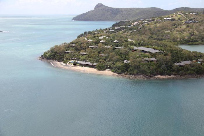Qualia Resort Hamilton Island from the Air