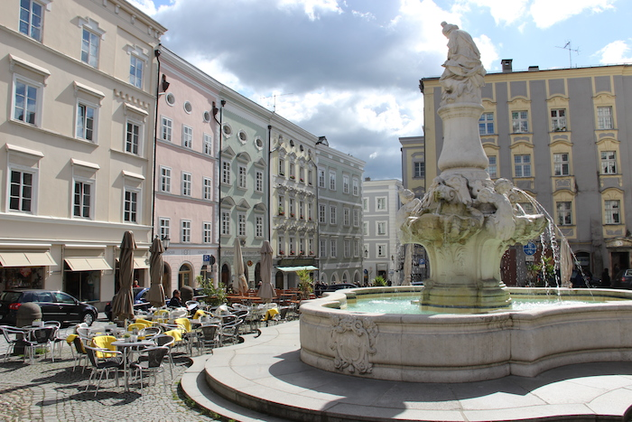 Market Square Passau Germany