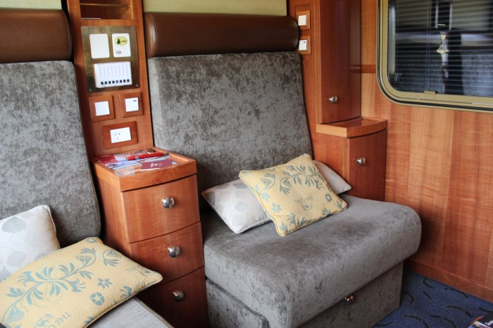 Platinum Cabin Daytime The Ghan Train