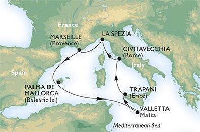 MSC Lirica Mediterranean