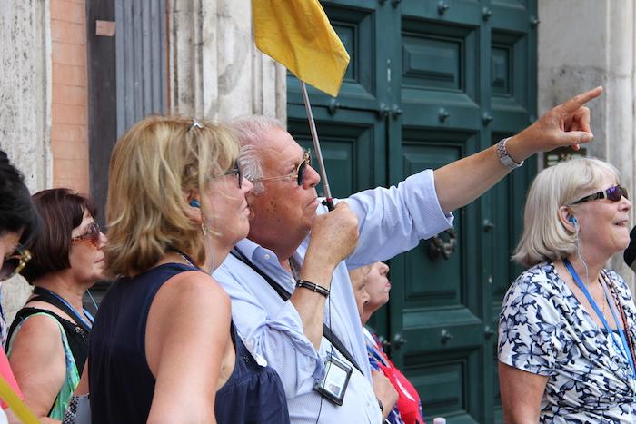 MSC Lirica Tour Guide Rome