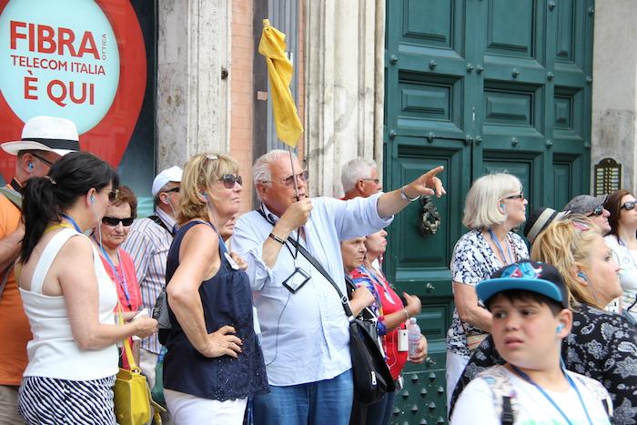 Excursion in Rome MSC Lirica