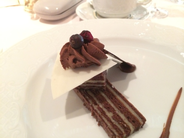 Crystal Cruises Chocolate Coconut Layer Cake