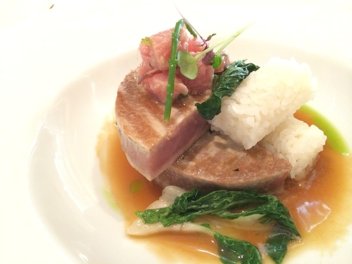 Crystal Cruises Grilled Tuna