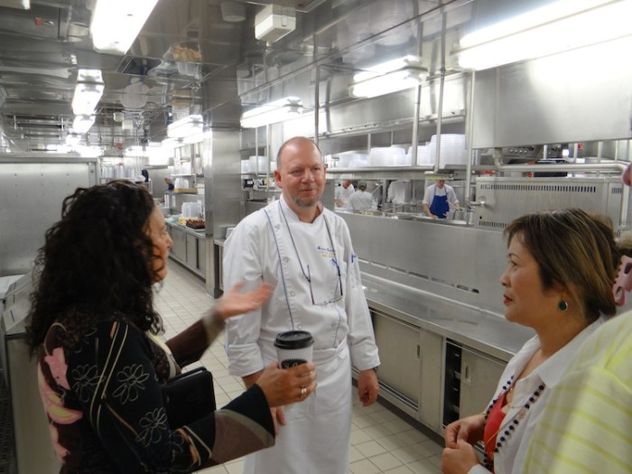 Werner Brenner, the Chef De Cuisine Crystal Cruises
