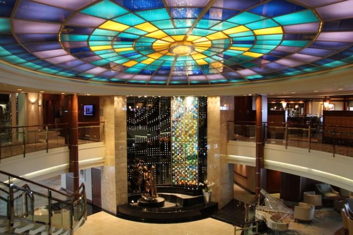 Crystal Serenity Lobby