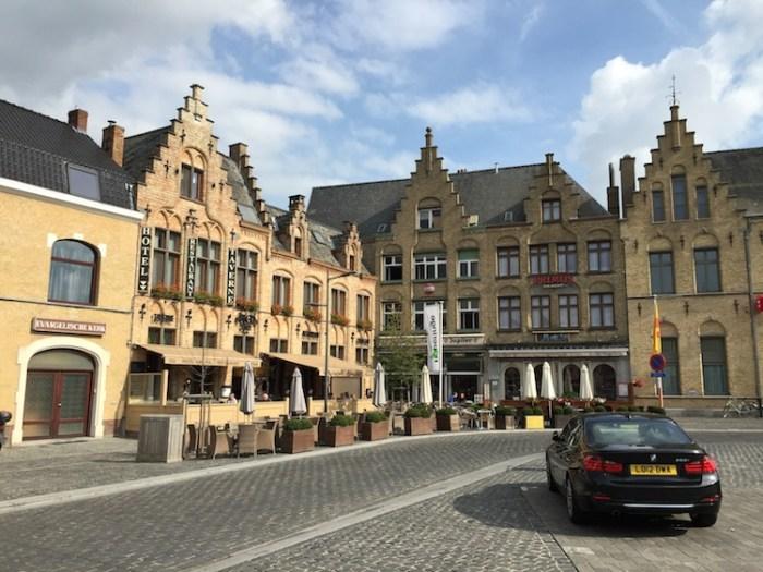 Poperinge Grote Markt Flanders Belgium