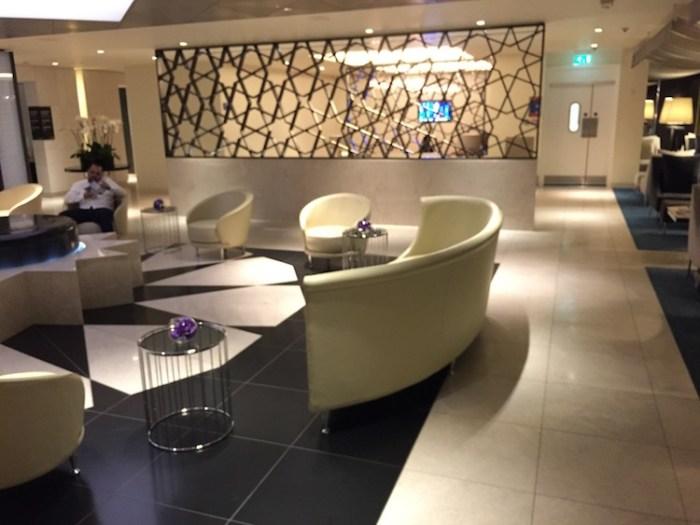 Qatar Airways Lounge London Heathrow Terminal Four Seating