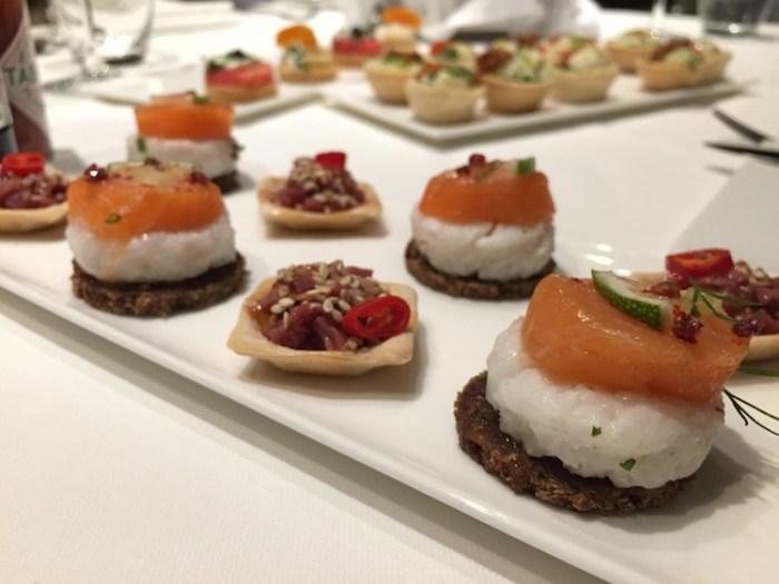 Qatar Airways Lounge London Heathrow Terminal Four Sushi