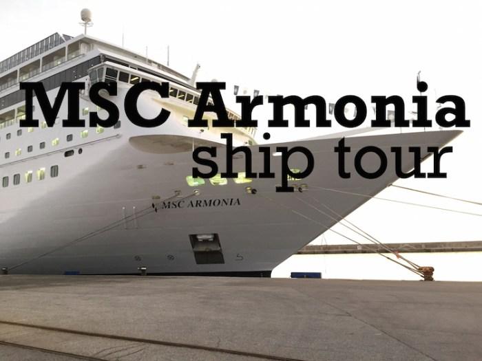 Armonia Ship Tour