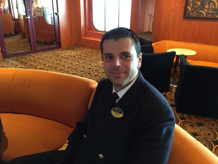 Massimo Lazzari - Food and Beverage Manager MSC Armonia