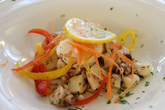 Seafood Salad Lunch in Chioggia Italy