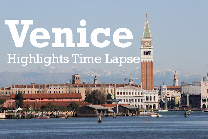 Venice Time Lapse Video