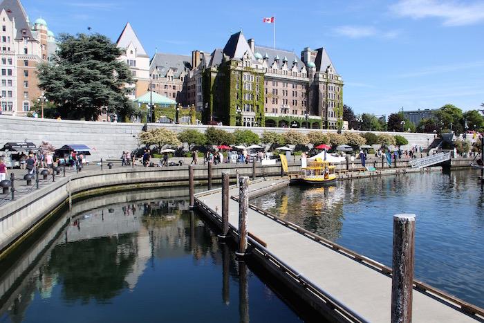Empress Hotel Victoria Harbour