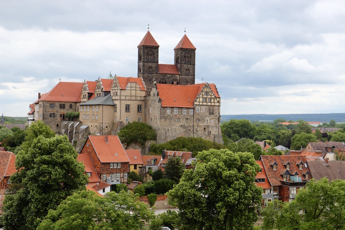 Quedlingburg Castle Mount, Harz , Germany