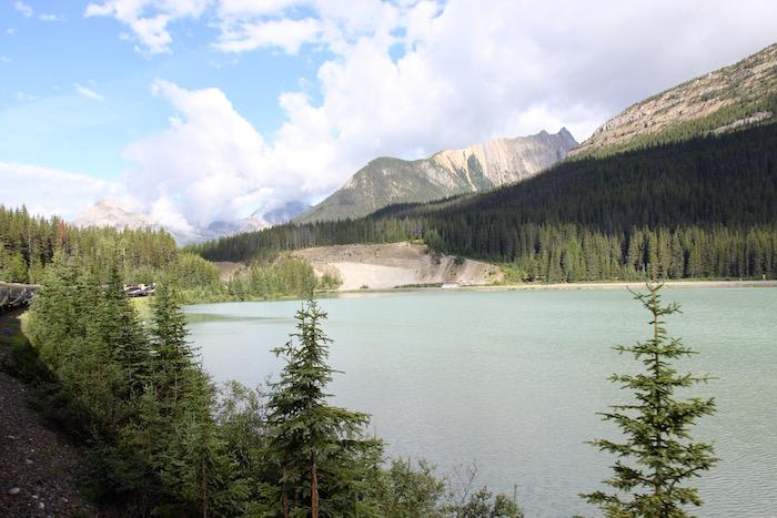 Rocky Mountaineer between Banff and Kamloops