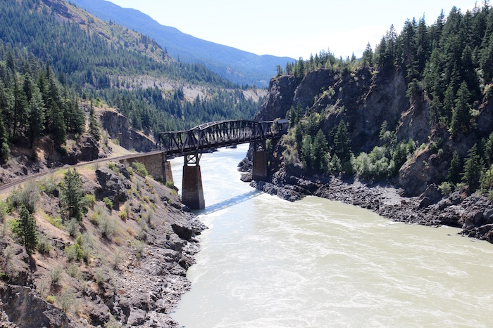 Rocky Mountaineer Train Kamloops to Vancouver