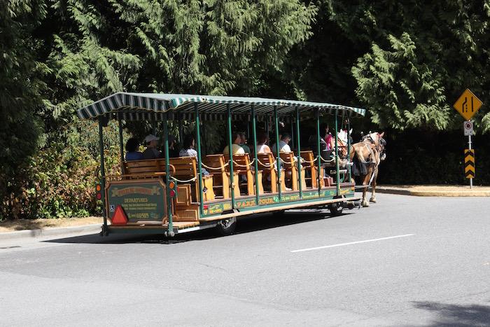 Horse-Drawn Coach Tours Stanley Park Vancouver