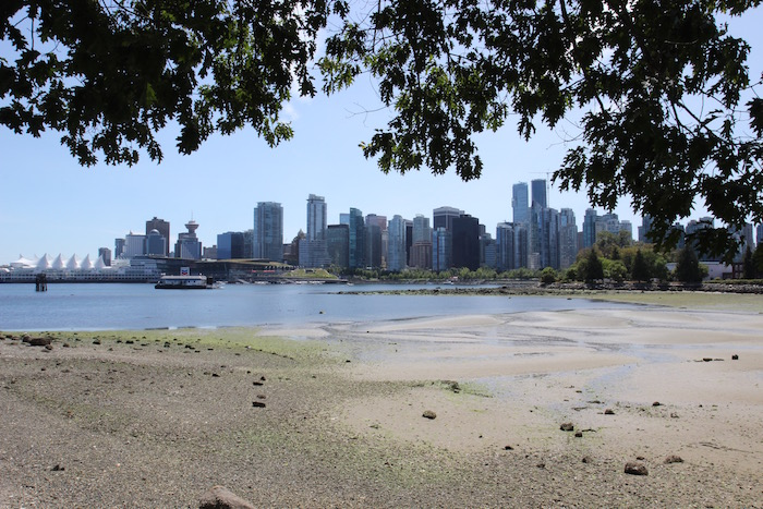 Vancouver British Columbia Canada from Stanley Park