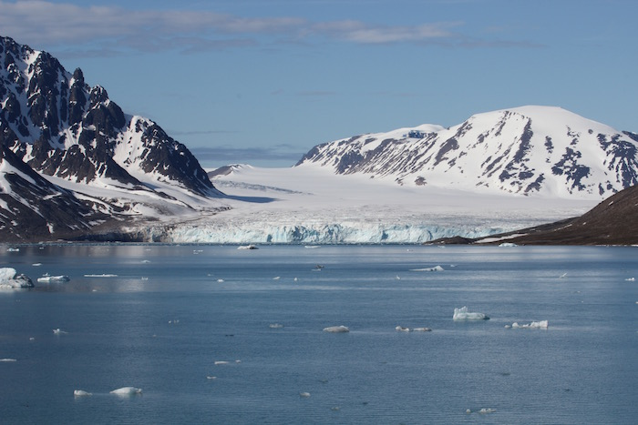 Monacobreen Glacier Svalbard