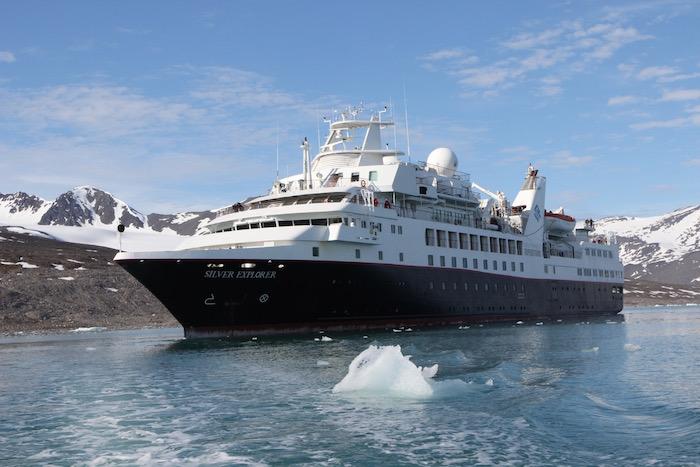 Silversea Silver Explorer Monacobreen Svalbard