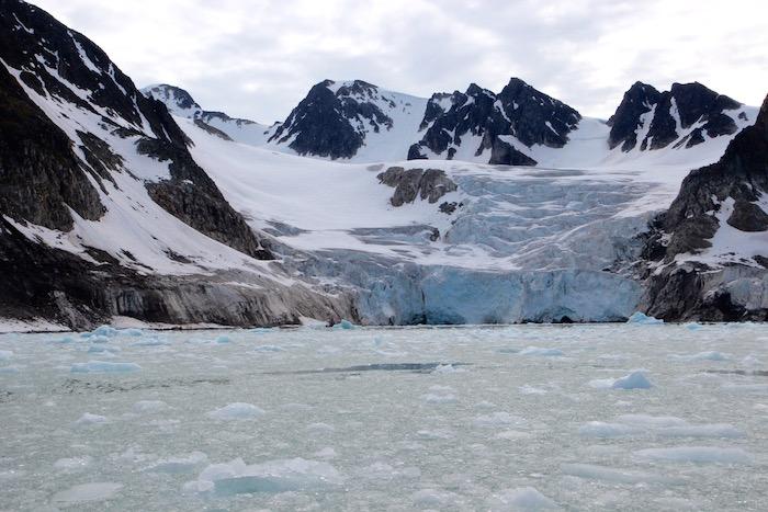 Hamiltonbukta Glacier Svalbard