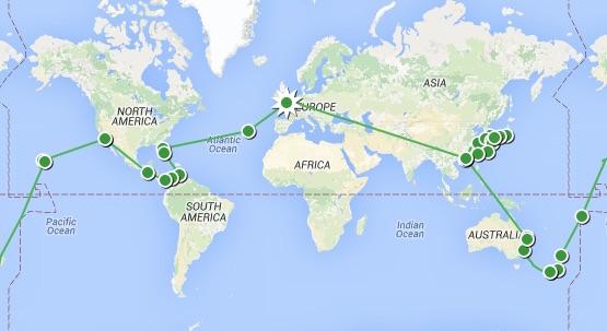 Big Trip 2 Map
