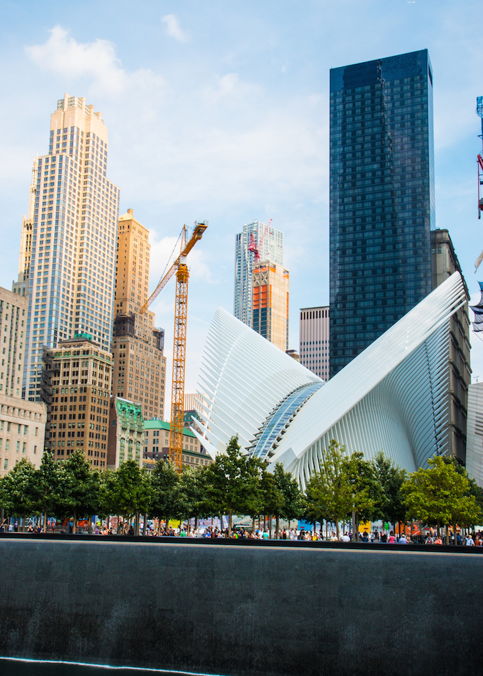 Ground Zero emerging from the site of Twin Towers