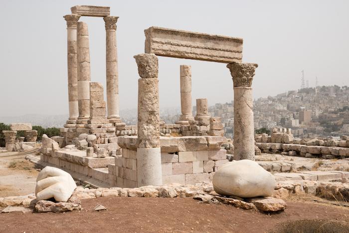 Temple of Hercules on Amman Citadel