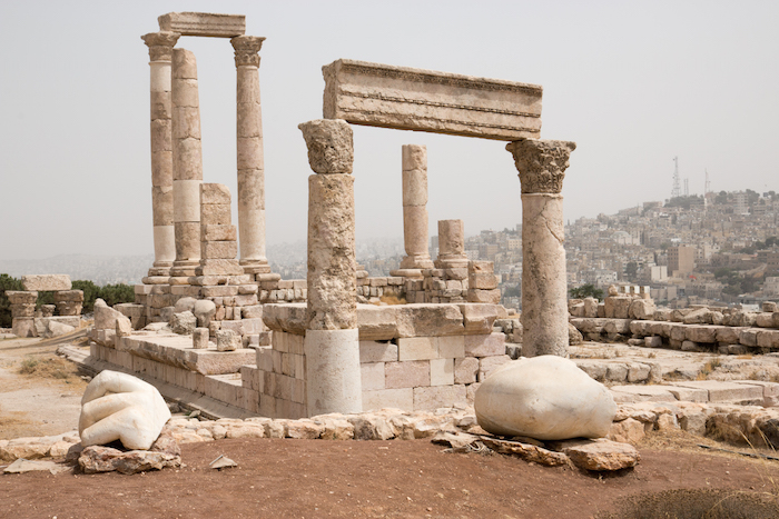 Temple of Hercules on Amman Citadel