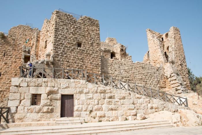 Ajloun Castle fortress in Jordan