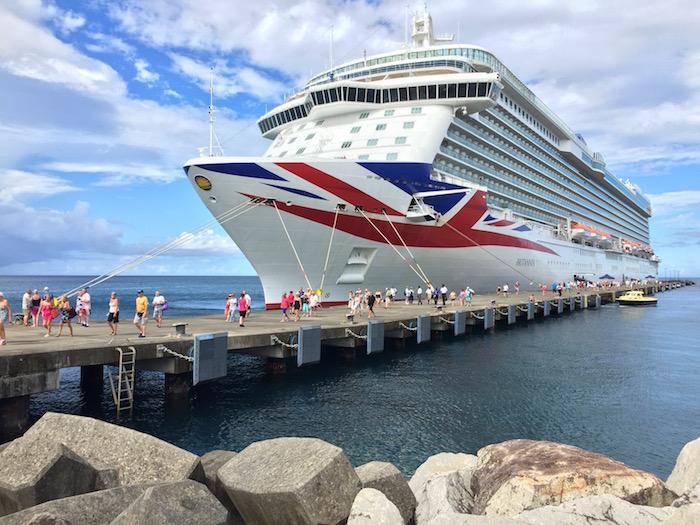 P&O Cruises Britannia in Grenada