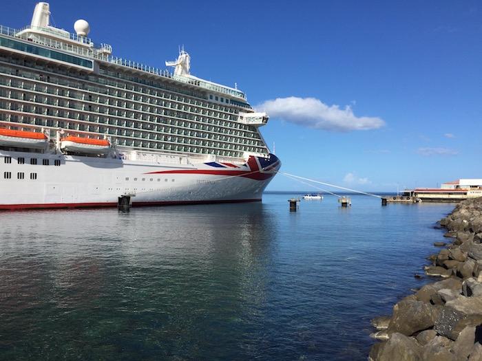 P&O Cruises Britannia Dominica
