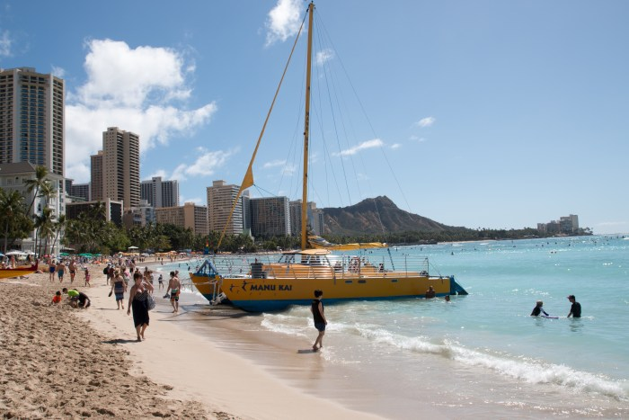 Waikiki Beach Honolulu
