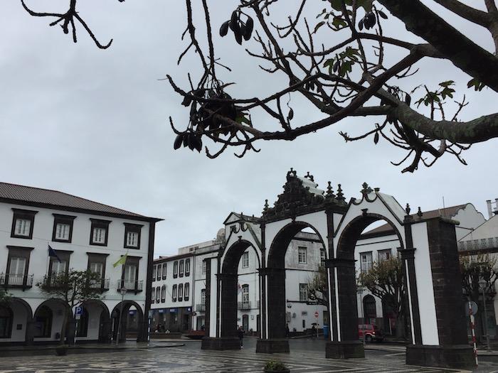 Ponte Delgada Azores City Gates