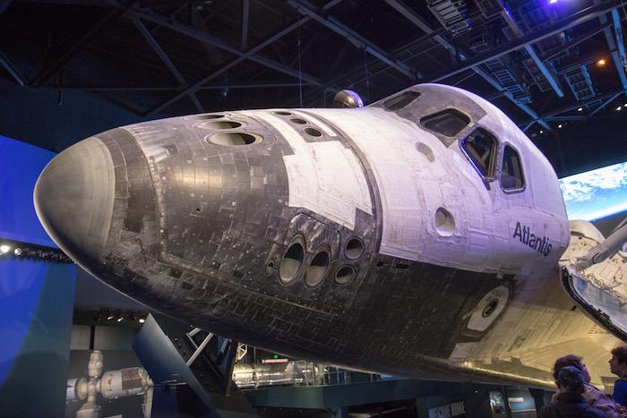 Space Shuttle Atlantis at Kennedy Space Center Florida