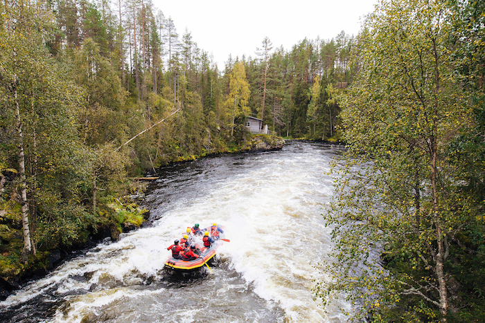 White Water Rafting Oulanka National Park Finland with Ruka Safaris Photo:Adrienne Pitts http://www.adriennepitts.com